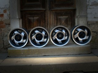 Aluline Turbine Alloy Wheels