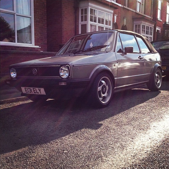 Mk1 Golf Aluline Turbine Alloy Wheels